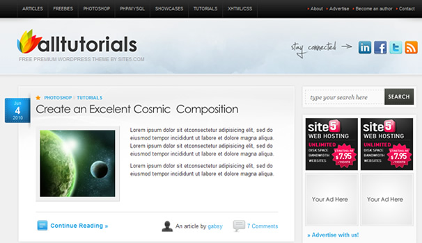 Free Premium WordPress Themes, Download Free Premium WordPress Themes