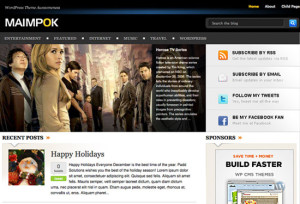 Maimpok Premium Free WordPress Themes