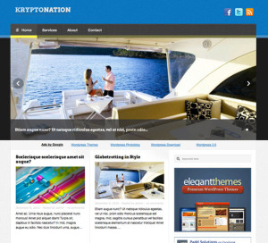 Kryptonation Premium Free WordPress Themes