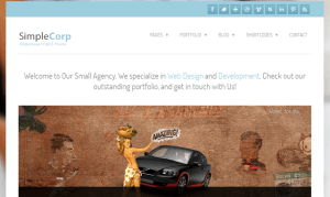 Simple Crop Responsive Free Premium Themes