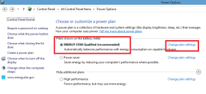 Make Windows 8 Faster With Power Management Settings